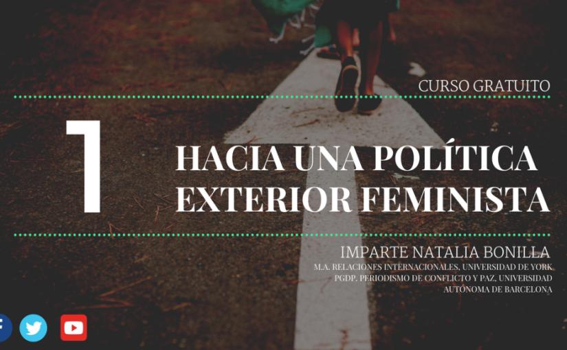 Curso gratuito: Hacia una política exteriorfeminista