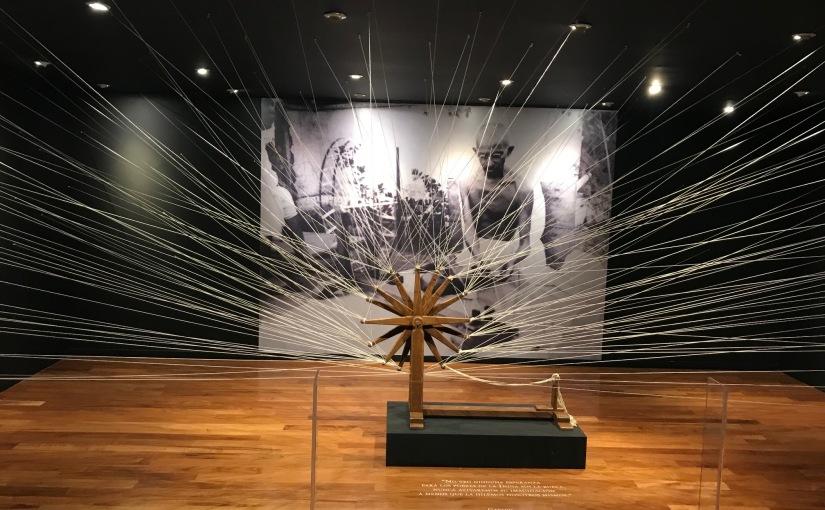 Nueva exhibición: Gandhi y el camino de la noviolencia